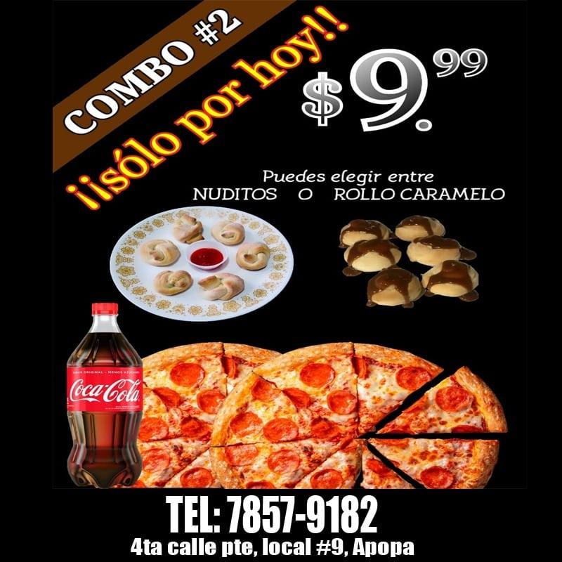 anuncio pizza donis