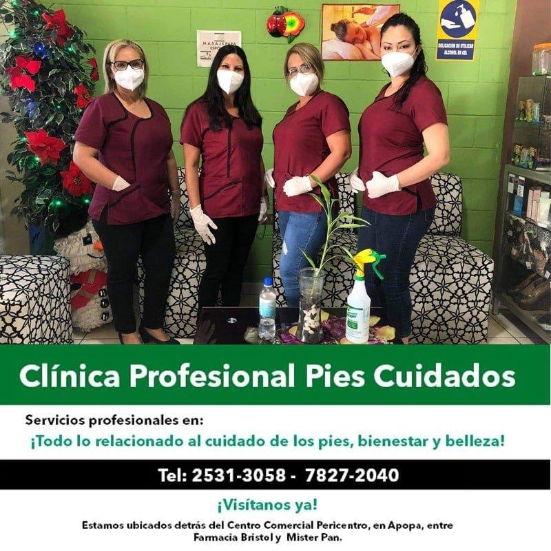 anuncio clinica pies cuidados