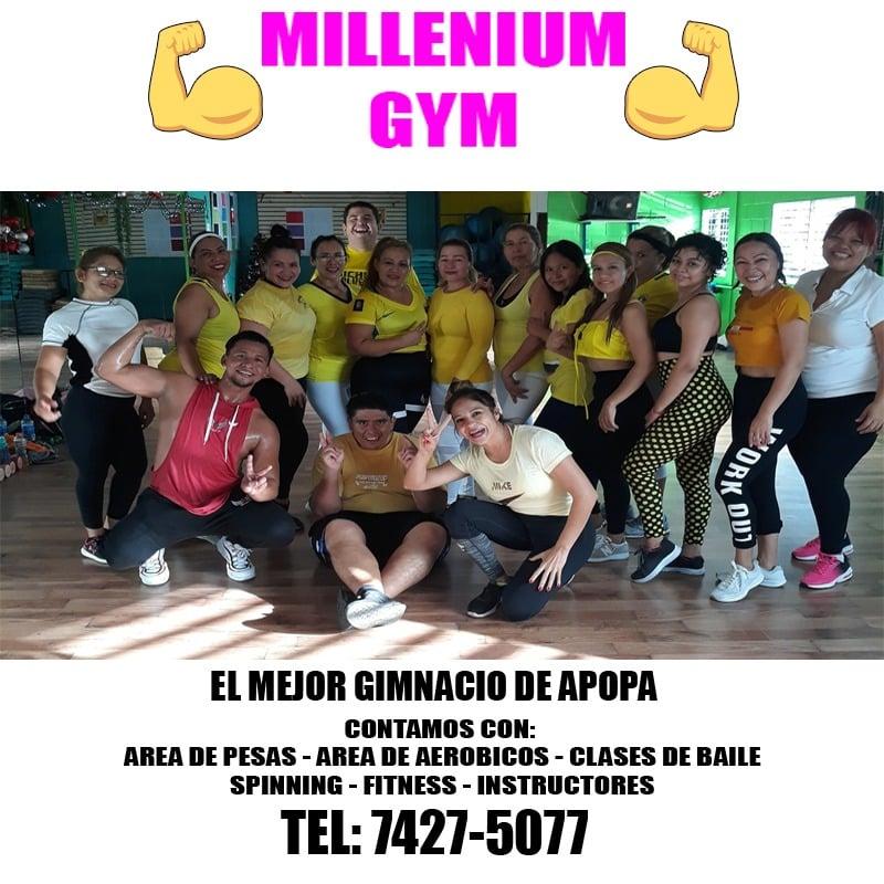 anuncio milleniun gym